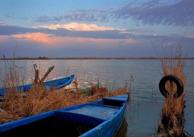 Delta del Ebro. Spain.