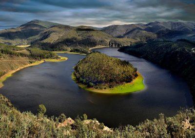 Meandro del Melero, Spain.