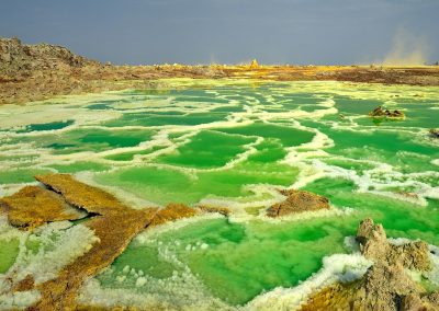 Dallol crater, Danakil, Ethiopia.