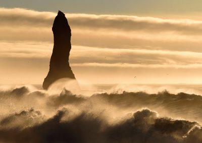 Playa de Vik, Islandia.