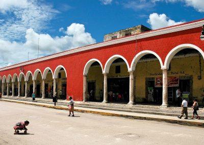 Plaza en Merida, Mexico.