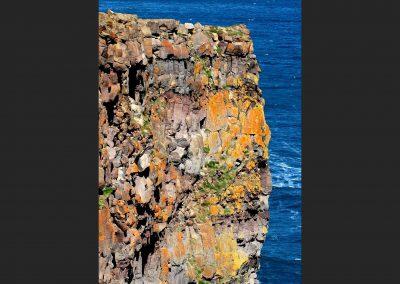 Acantilado / cliff, North Iceland.