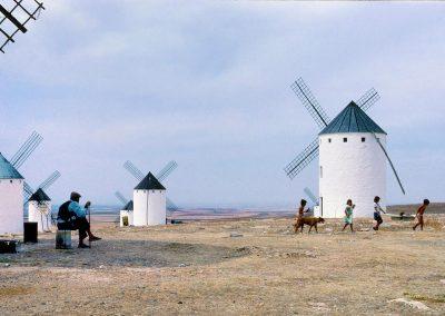 Molinos de viento / windmills, Campo de Criptana, Spain.