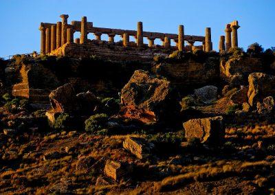 Ruinas romanas / Roman ruins, Sicilia, Italia.