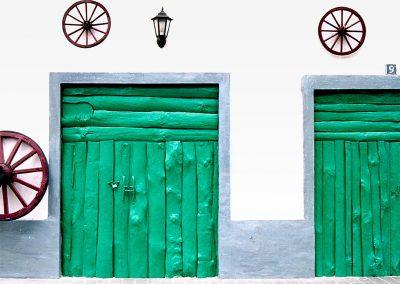 Fachada / facade, Gran Canaria Island, Spain.