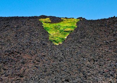 Lava del volcan Etna / Etna volcano lava, Sicilia, Italy.