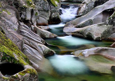 Pozas rio Jerte, Extremadura, Spain.