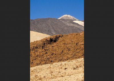 Laderas pico Teide / hillsides Teide peak, Tenerife, Spain.