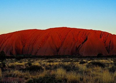 Mount Uluru, Northern Teritory, Australia.