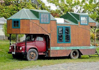 Vivienda móvil / mobile house, New Zealand