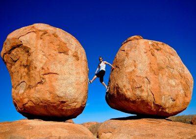 Marmoles del diablo / Devil Marbles, Northen Territory, Australia.