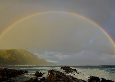 Arco iris / rainbow, South Africa coast.