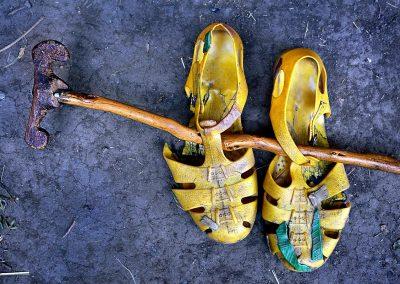 Sandalias / sandals, Aksum, Ethiopia.