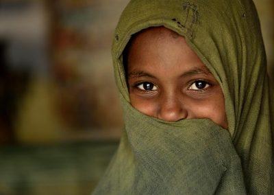 Trigayan girl, Aksum, Ethiopia.