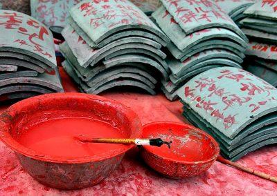 Escritura china / Chinese writing, Southeast China.