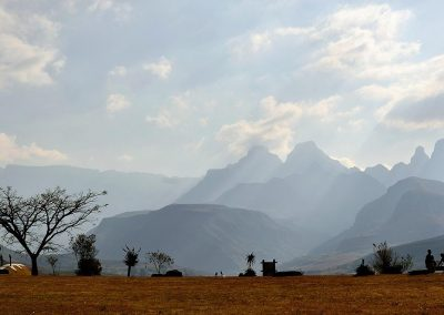Drakensberg mountains, South Africa.