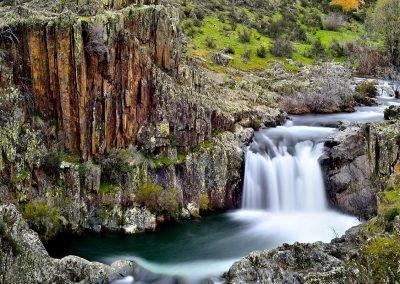 Cascadas / waerfalls Aljibe, Castilla-Leon, Spain.