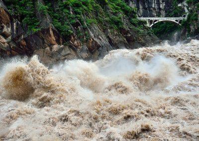 Salto del Tigre, río Yangtsé, Southeast China.