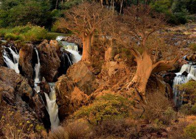 Epupa Waterfalls, Namibia.