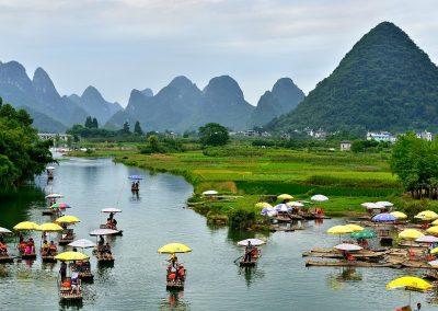 Rio / river Li, Southeast China.
