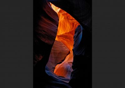 Antelope Canyon, Utah, USA.