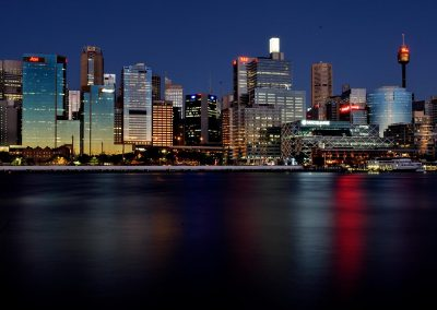 Sydney at night, Australia