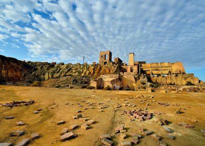 Mazarron mines, Spain.