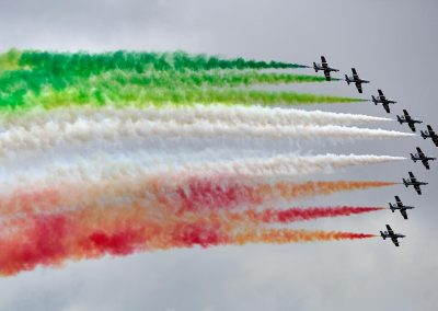 Italian aircrafts exhibition.