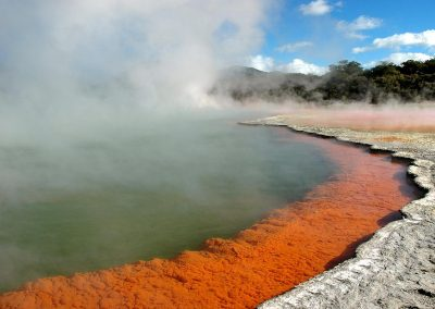 Hot Springs, Rotorua, New Zealand.