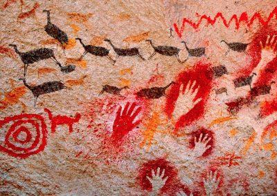 Cueva de las manos, Patagonia Argentina.
