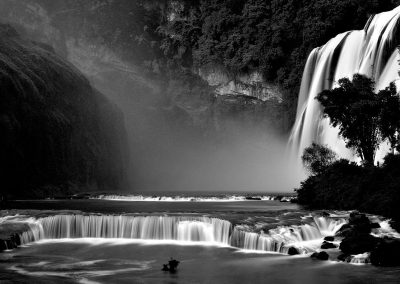 Huanggoshu Waterfalls, China.
