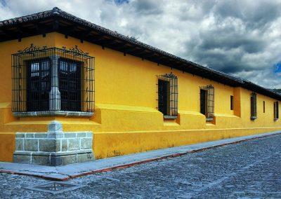 Calles de Antigua, Guatemala.