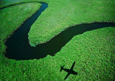 Rio Okawango / Okawango river, Botswana.