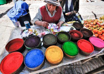 Colores de artesanía / Craft colors, Peru