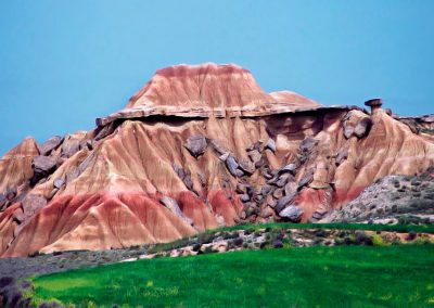 Bardenas reales pictorico, Spain. (F)