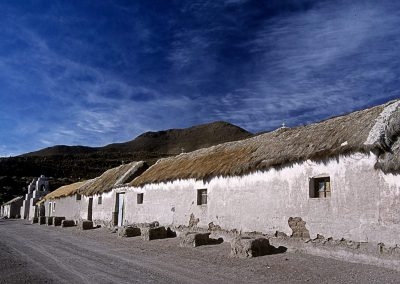 Aldea en el altiplano boliviano