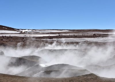 Geiseres de lodo, Altiplano boliviano.