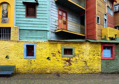 Barrio Caminito, Buenos Aires.