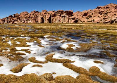 Laguna de la Luna, Altiplano boliviano.